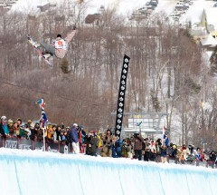 photos taken at the us open of snowboarding in straton, vt in March of 2007.